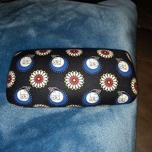Vera Bradley eye glass case